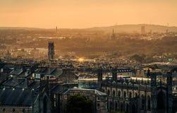 Эдинбург Шотландия Великобритания Стоковое фото RF