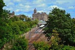 Эдинбург Шотландия Стоковое Изображение RF