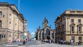 Эдинбург, Шотландия Стоковое фото RF