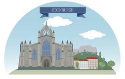 Эдинбург бесплатная иллюстрация