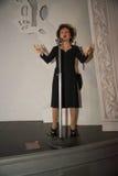 Эдит Piaf в музее Grevin диаграмм воска в Праге Стоковая Фотография RF