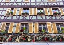 Эльзасское украшение Стоковое Фото