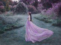 Эльф идет в сад Стоковое Фото