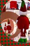 Эльф рождества в кольце Стоковые Изображения RF