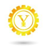 Юани золота символа Стоковое Фото
