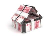 Юани принципиальной схемы недвижимости бесплатная иллюстрация