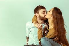 любить пар счастливый Стоковое Фото