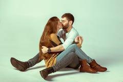 любить пар счастливый Стоковая Фотография RF