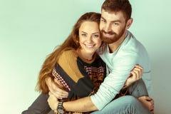 любить пар счастливый Стоковое Изображение