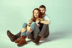 любить пар счастливый Стоковая Фотография