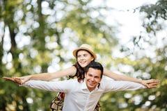 любить пар счастливый Стоковое фото RF