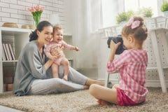 любить семьи счастливый Стоковые Фото