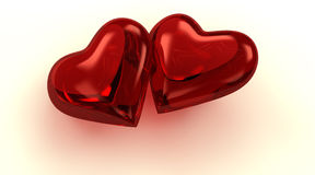 любить сердец Стоковые Изображения RF