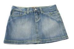Юбка джинсовой ткани мини Стоковые Изображения RF