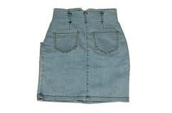 Юбка джинсовой ткани Стоковое Изображение
