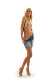 юбка джинсовой ткани 2 Стоковые Фото
