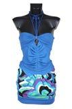 юбка кофточки голубая Стоковое Фото