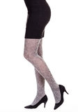 Юбка ног женщины вкратце Стоковое Изображение RF