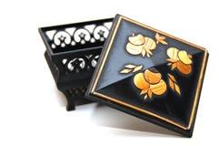 ювелирные изделия коробки немногая Стоковая Фотография