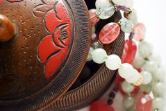 ювелирные изделия коробки шариков Стоковое Изображение RF