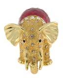 ювелирные изделия слона коробки Стоковые Фотографии RF