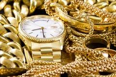 Ювелирные изделия, золото, Стоковые Изображения RF