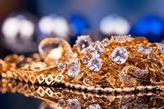 Ювелирные изделия и драгоценные камни Стоковые Изображения RF