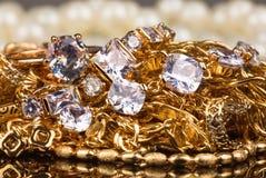Ювелирные изделия и драгоценные камни Стоковые Изображения