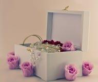 Ювелирные изделия коробки Стоковое фото RF