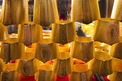 Ювелирные изделия на золоте Souq Дубай s Стоковые Фотографии RF