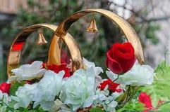 Ювелирные изделия свадьбы Стоковое Фото