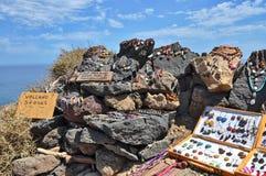 Ювелирные изделия сделанные камня лавы Стоковая Фотография RF