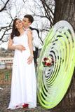 ювелирные изделия cravat пар кристаллические связывают венчание Стоковое Изображение