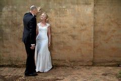 ювелирные изделия cravat пар кристаллические связывают венчание Стоковые Изображения RF