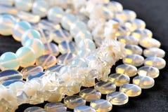Ювелирные изделия Moonstone semi драгоценные Стоковое Изображение
