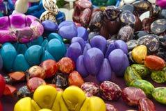 Ювелирные изделия Tagua - браслеты Стоковые Фотографии RF