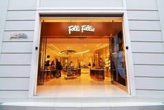Ювелирный магазин Folli Follie на синтагме Афинах Греции улицы Ermou стоковые изображения
