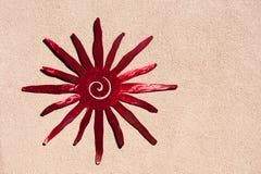 Югозападный орнамент солнца Стоковое Изображение RF