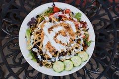 Югозападный салат из курицы Стоковое Изображение