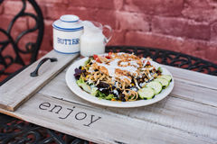 Югозападный салат из курицы Стоковые Фотографии RF