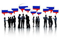Югославские бизнесмены имея встречу Стоковые Фото