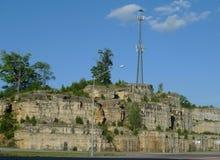 Юго-западный пейзаж Миссури с башней Стоковая Фотография RF