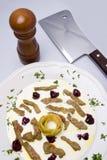 югурт мяса варенья дровосека Стоковое Фото