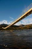 юг моста Африки пешеходный сельский стоковые изображения