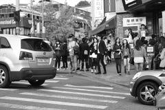 юг приятеля s seoul короля Кореи в июле 30 изменяя предохранителей Стоковое Изображение RF