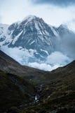 юг annapurna пиковый Стоковое фото RF