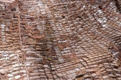 Южная Америка, Перу, солевой рудник в священной долине Стоковые Фотографии RF