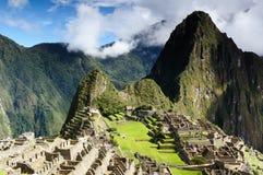 Южная Америка, Перу, Machu Picchu стоковые фотографии rf