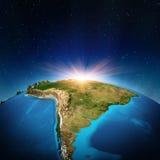 Южная Америка Стоковое Изображение RF