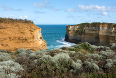 Южная береговая линия Виктории, Австралия Стоковая Фотография RF